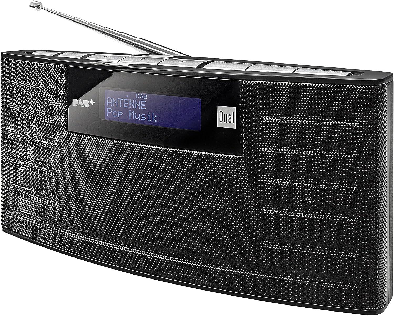 Dual Radio Digital Dab 15 con batería integrada (Dab (+)/FM-Radio, Mando a Distancia función de Memoria, Auriculares, función Despertador, Sonido estéreo) Negro (Importado): Amazon.es: Electrónica