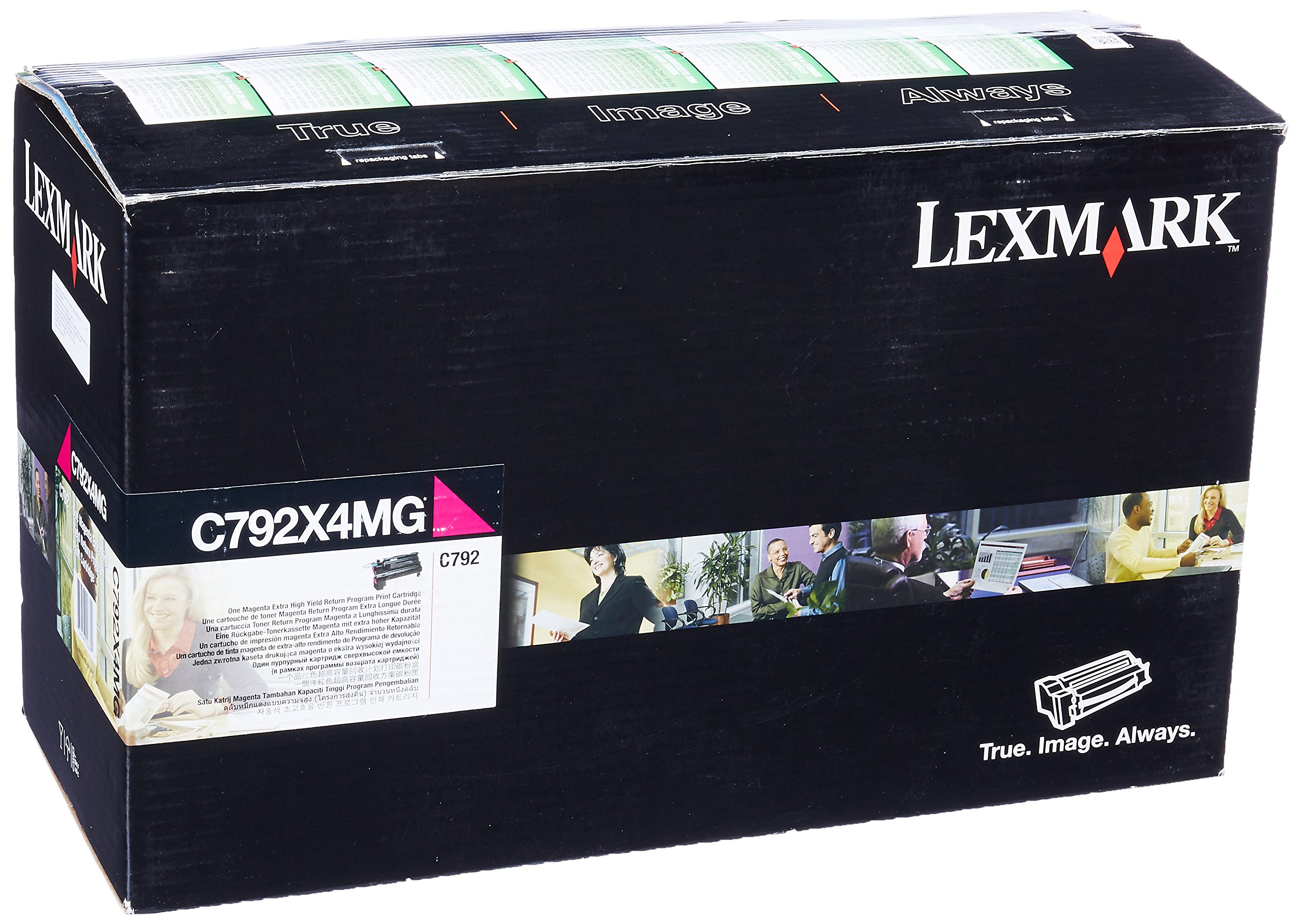 Toner Original LEXMARK C792X4MG Laser