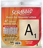 Eureka Back to School Scrabble Punch Out Deco Letters Classroom Decorations, 96 pc, 4'' (845153)