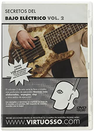 virtuosso Electric Bass Method Vol. 2 (curso de bajo eléctrico Vol. 2) español sólo: Amazon.es: Instrumentos musicales