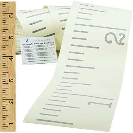 Amazon Vinyl Growth Chart Single Transfer For Easy