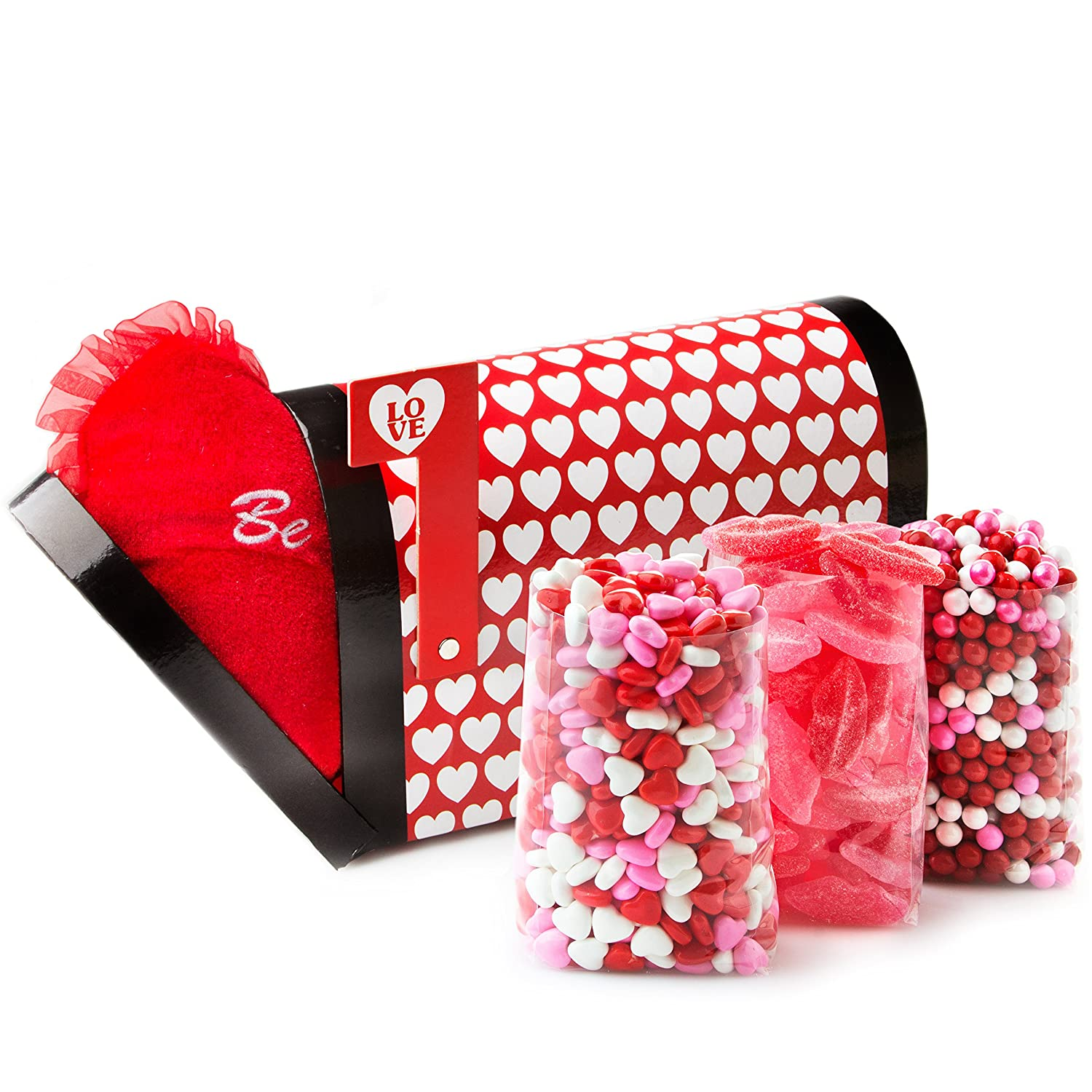 Amazon.com : Mothers Day Candy Heart Love Gift, Valentine Mailbox ...