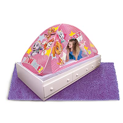 Playhut Paw Patrol 2-in-1 Bed Tent, Pink: Toys & Games