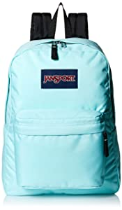 JanSport Classic Superbreak Backpack Aqua Dash