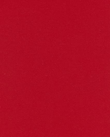 Amazon Com Cotton Jersey Knit Fabric By The Yard Red
