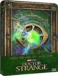 Marvel's Doctor Strange – Edición limitada Steelbook [Import] [Blu-ray 3D] [Blu ray]