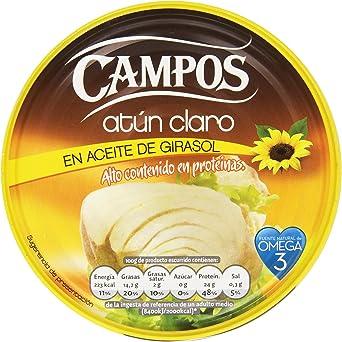 Campos, Conserva de atún claro en aceite de girasol - 160 gr.