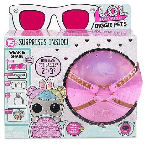 Amazon Com L O L Surprise Biggie Pet Hop Hop Toys Games