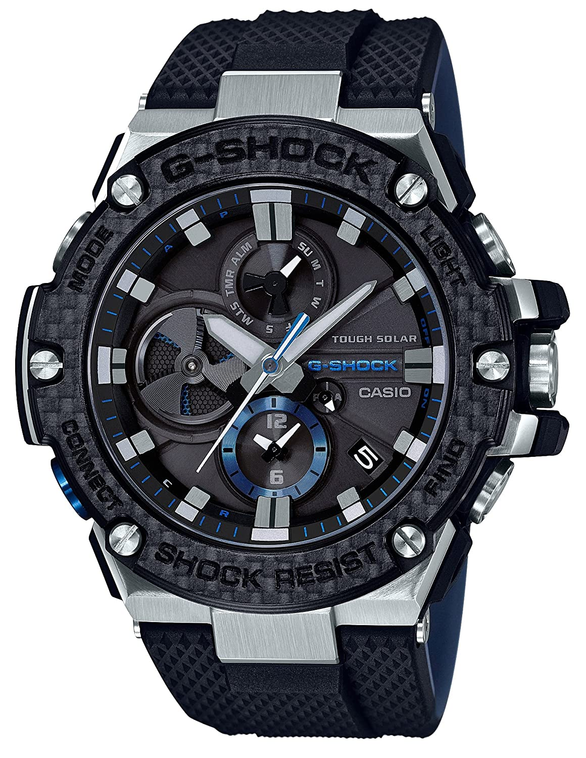 Amazon.com: CASIO G-SHOCK G-STEEL GST-B100XA-1AJF MENS JAPAN IMPORT: Watches