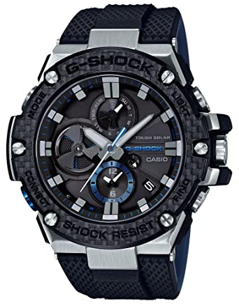 3080900276b Amazon.com  CASIO G-SHOCK G-STEEL GST-B100XA-1AJF MENS JAPAN IMPORT ...
