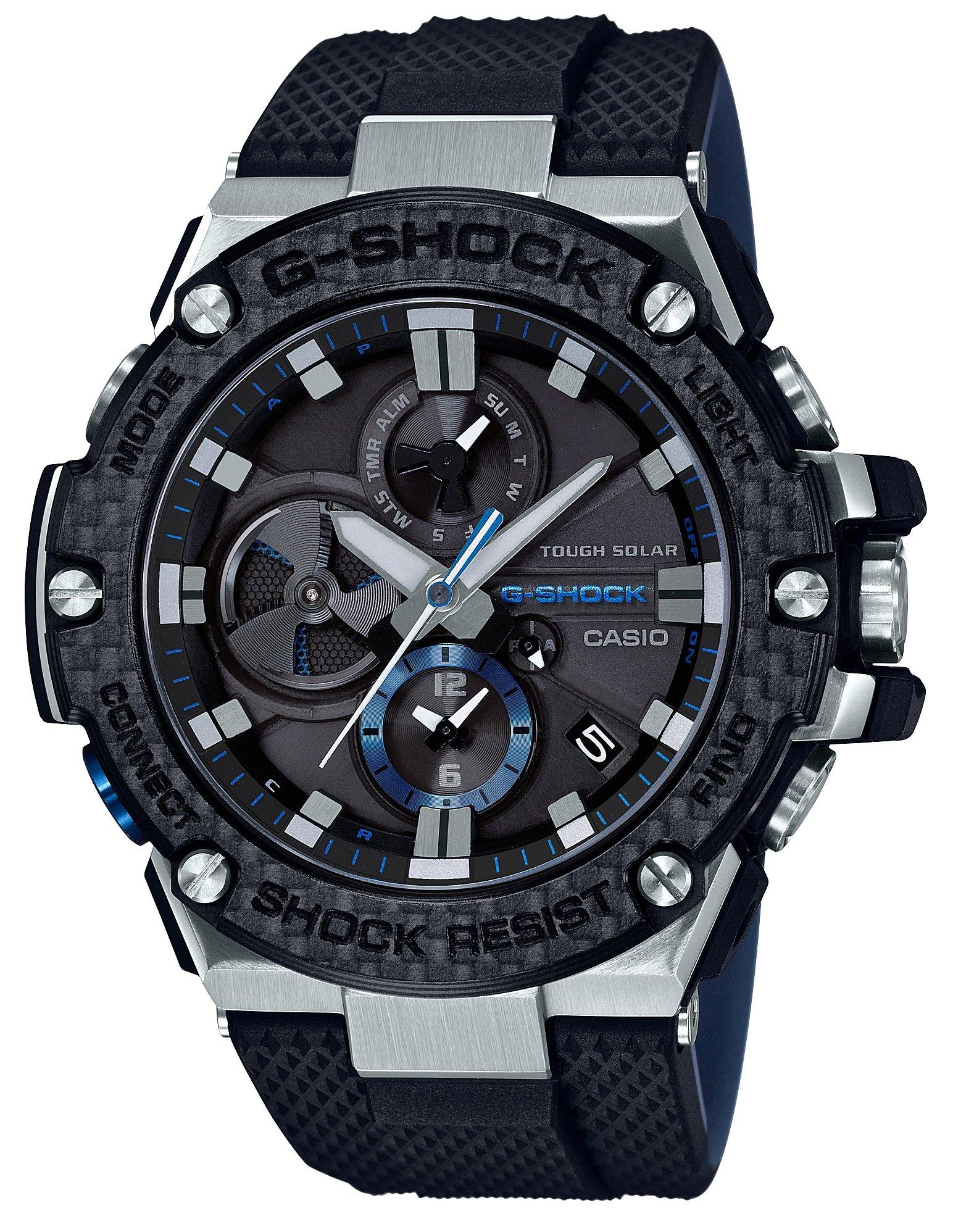 [カシオ]CASIO 腕時計 G-SHOCK ジーショック G-STEEL スマートフォン リンク GST-B100XA-1AJF メンズ