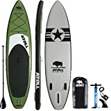 Atoll 11 Foot Inflatable Stand Up Paddle Board (6 Inches Thick, 32 inches