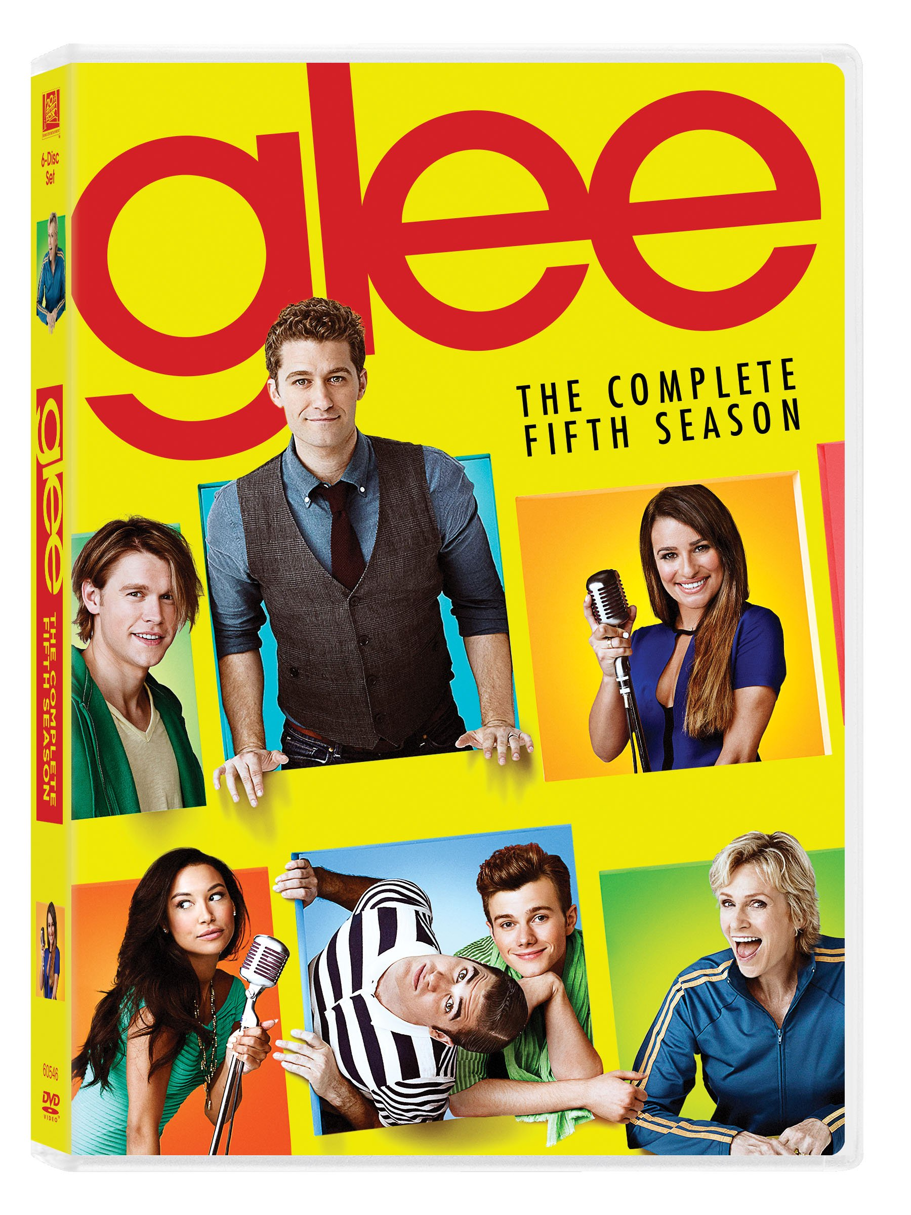 DVD : Glee: Season 5 (Dolby, Digital Theater System, , Widescreen, 6 Disc)