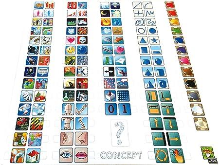 Repos Production - Juego de cartas Concept (CONFR01) (versión en francés): Amazon.es: Juguetes y juegos
