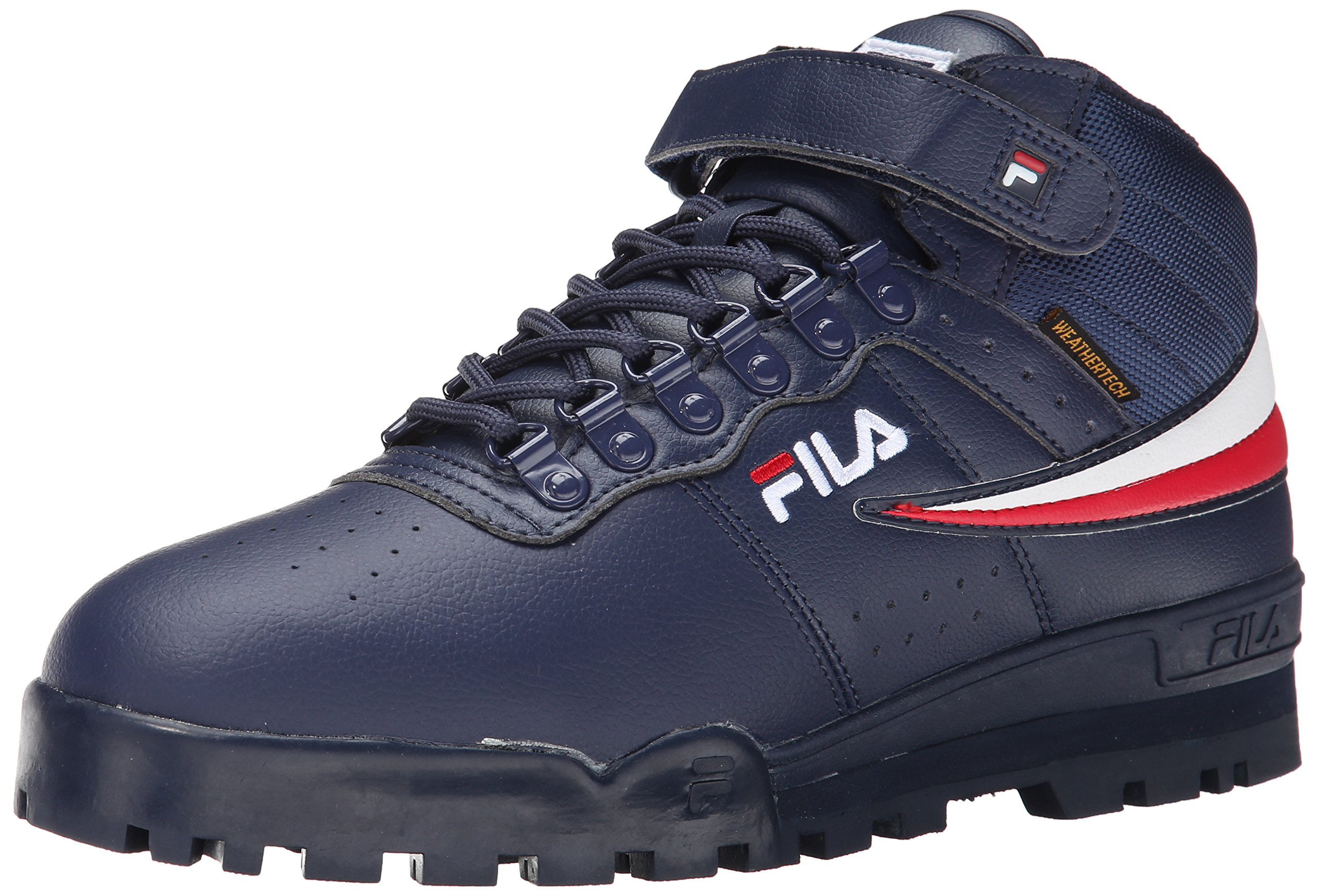 Fila Men's f-13 Weather tech-m, Navy/White Red, 12 M US