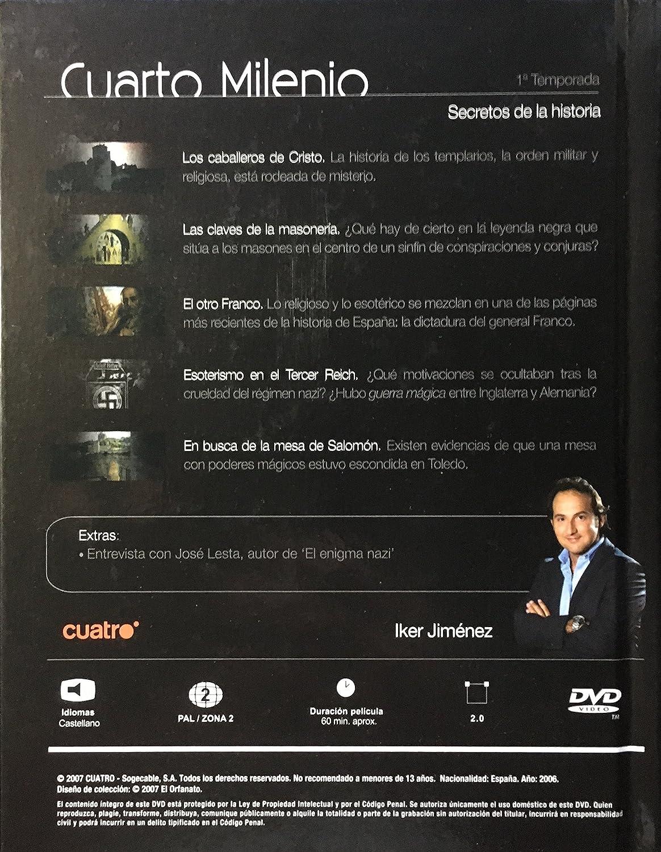 Cuarto Milenio, 5. Secretos de la historia: Amazon.es: Cine ...