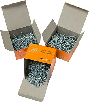 1 Box Pack SPAX Screws Size 3.5mm x 30mm Flat Countersunk Pozi Zinc Yellow Passivated 200 Pieces