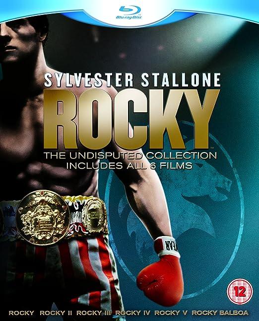 Rocky: The Complete Saga 1-6 Edición Digistack Reino Unido Blu-ray: Amazon.es: Sylvester Stallone: Cine y Series TV