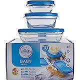 DURALEX 9076AS10 Baby Lot de 10 Services de table Verre Transparent 21,4 cm