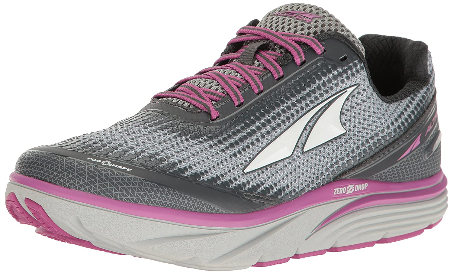 Altra Women's Torin 3.0 Running-Shoes B01MRZW1EV 6.5 B(M) US|Gray/Pink