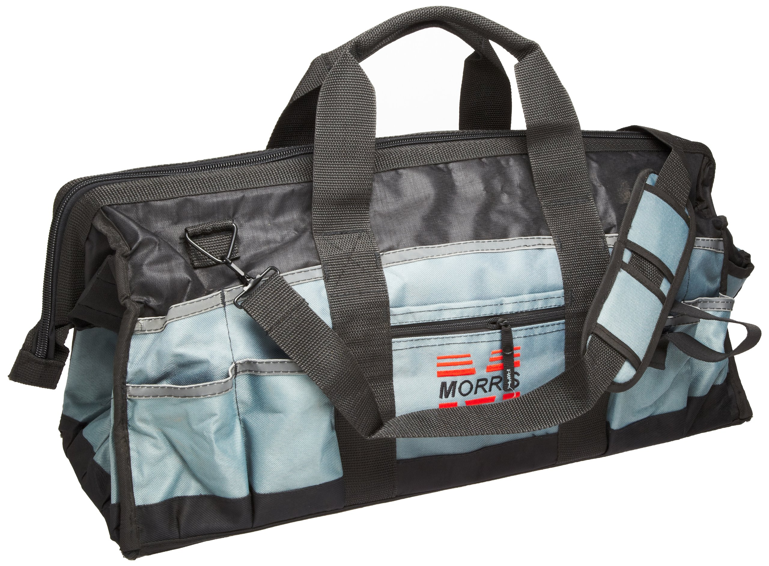 Morris Products 53506 Large Easy Search Tool Bag, 24'' Length, 8.5'' Width, 13'' Height, 63 Total - 24 inside, 39 outside Pockets