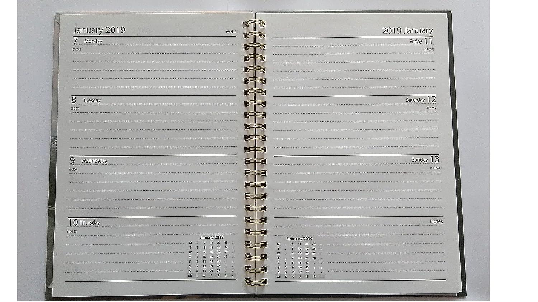 2018/2019 - Agenda escolar (tamaño A5, vista semanal, diseño ...