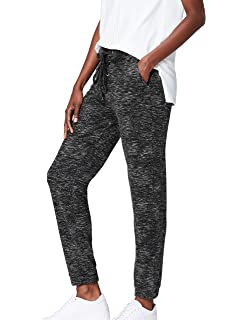 FIND Women's Joggers in Slouchy Marl Cut