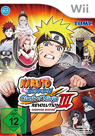 Nintendo WII Naruto Shippuden Clash of Ninja Revolution 3 ...