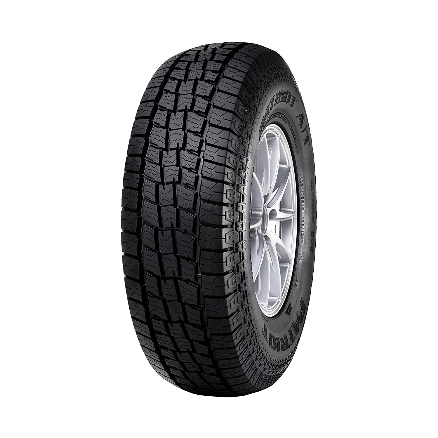 Patriot Tires Patriot AT All-Terrain Radial Tire - LT265/70R17 121S Omni United RSD0069