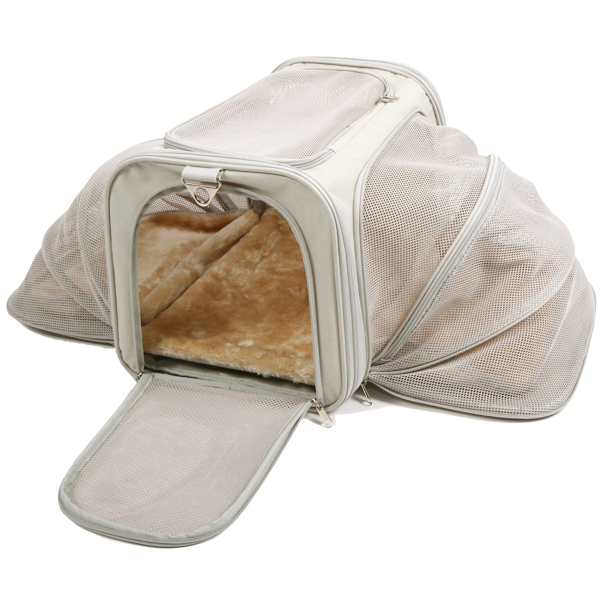 Galleon Jet Sitter Expandable Pet Dog Cat Carrier Soft