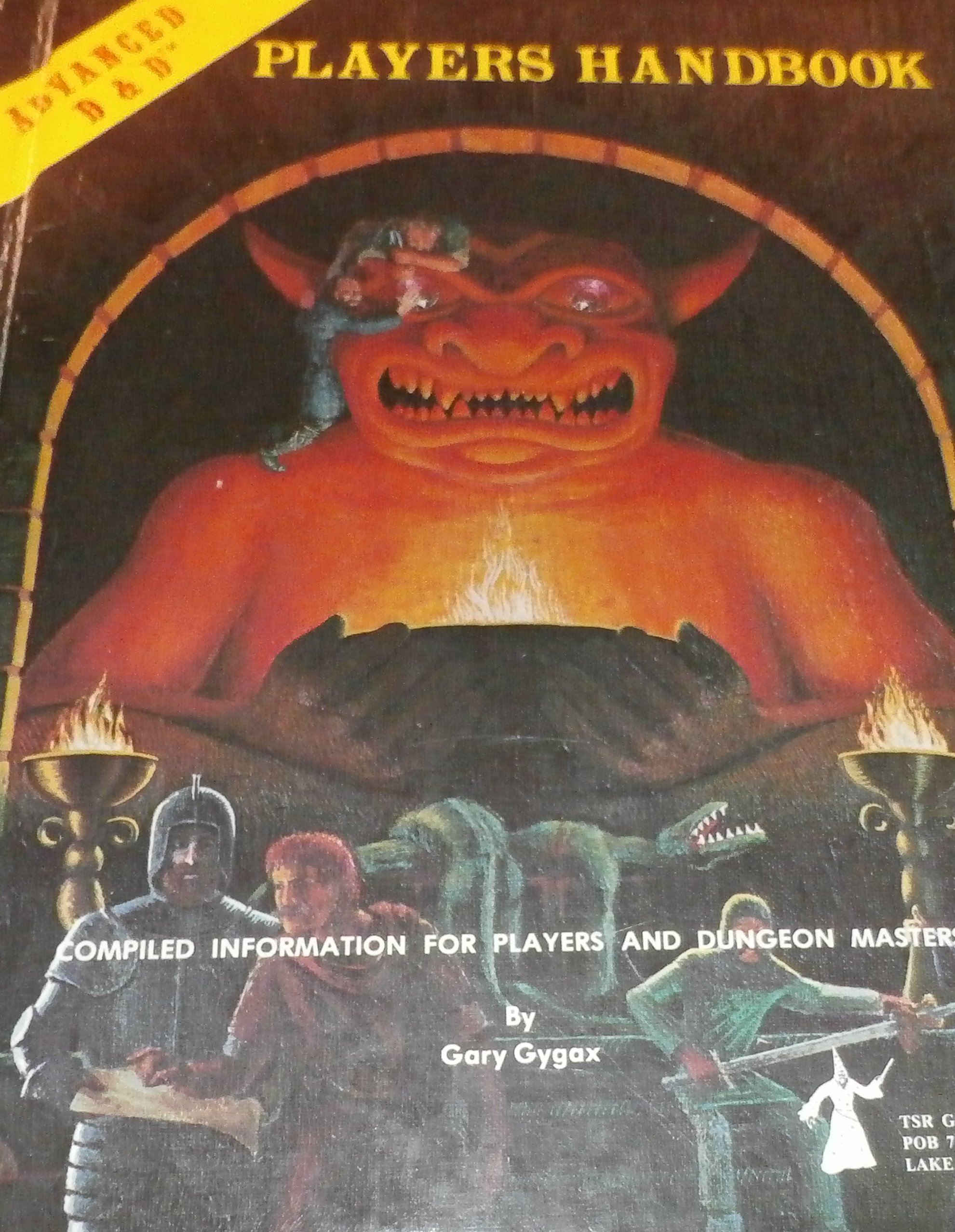 Players Handbook (Advanced Dungeons & Dragons): Gary Gygax: 9783890840291:  Amazon.com: Books