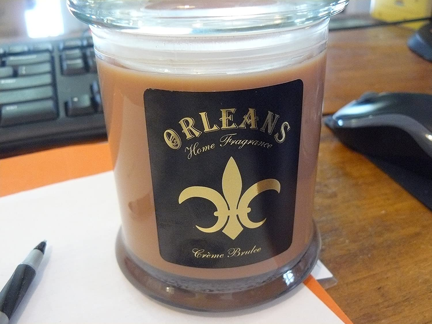Orleans Creme Burlee 2 wick Candle By Fragrances