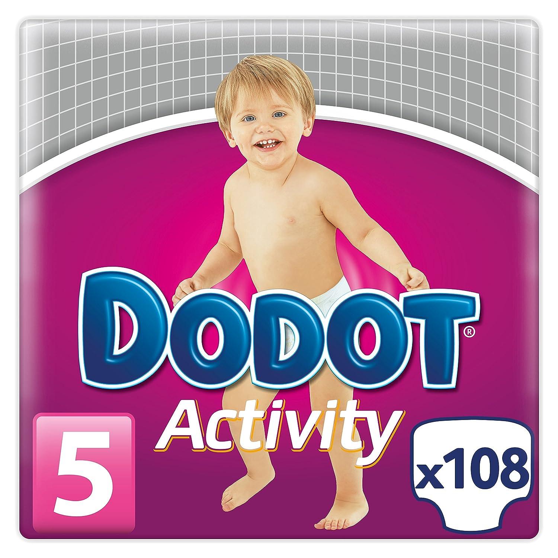 Dodot Activity, Talla 5, 108 pañales: Amazon.es: Salud y cuidado personal