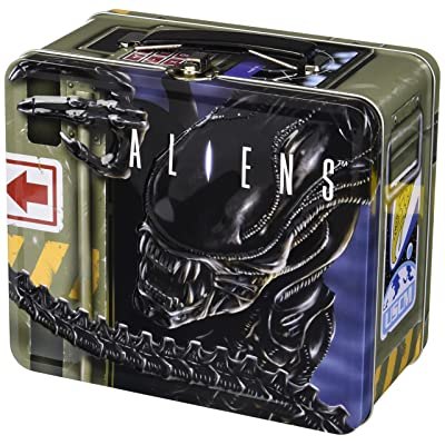 DIAMOND SELECT TOYS Aliens: Lunch Box with Thermos: Toys & Games