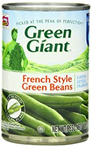 Green Giant French Style Green Beans, 14.5-Ounce (Pack of 8)