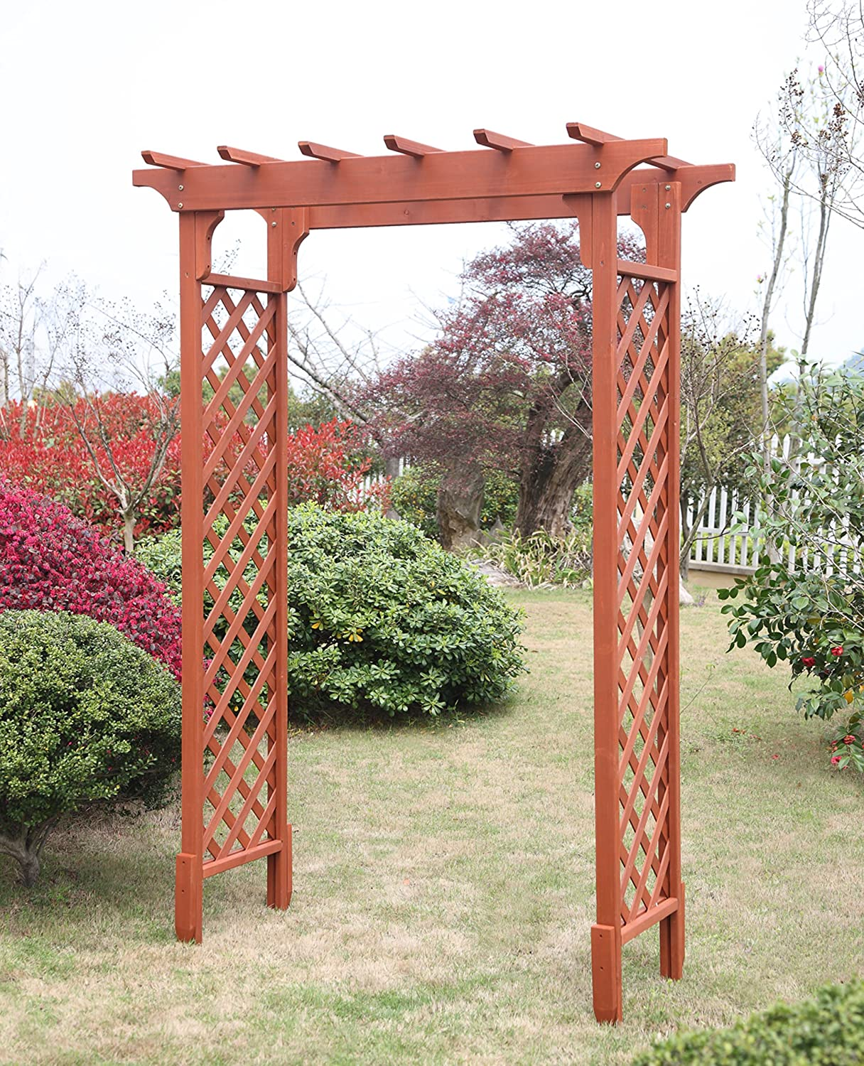 Amazon.com : Convenience Concepts Deluxe Garden Arbor : Garden U0026 Outdoor