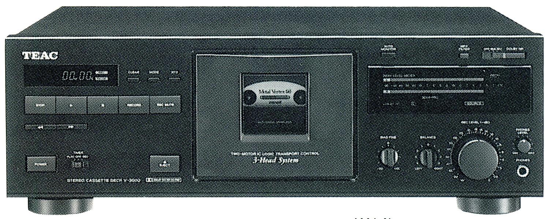 TEAC ティアック V-3000 3ヘッドカセットデッキ B00FFWKS2S