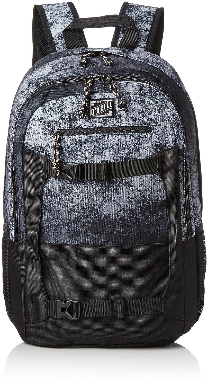 ONeill - Bm Boarder Backpack, Mochilas Hombre, Schwarz (Black Aop W/White), 20x31x48 cm (B x H T): Amazon.es: Zapatos y complementos