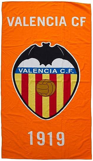 Valencia CF Toavcf Toalla, Blanco/Naranja, 150 x 75 cm: Amazon.es: Deportes y aire libre
