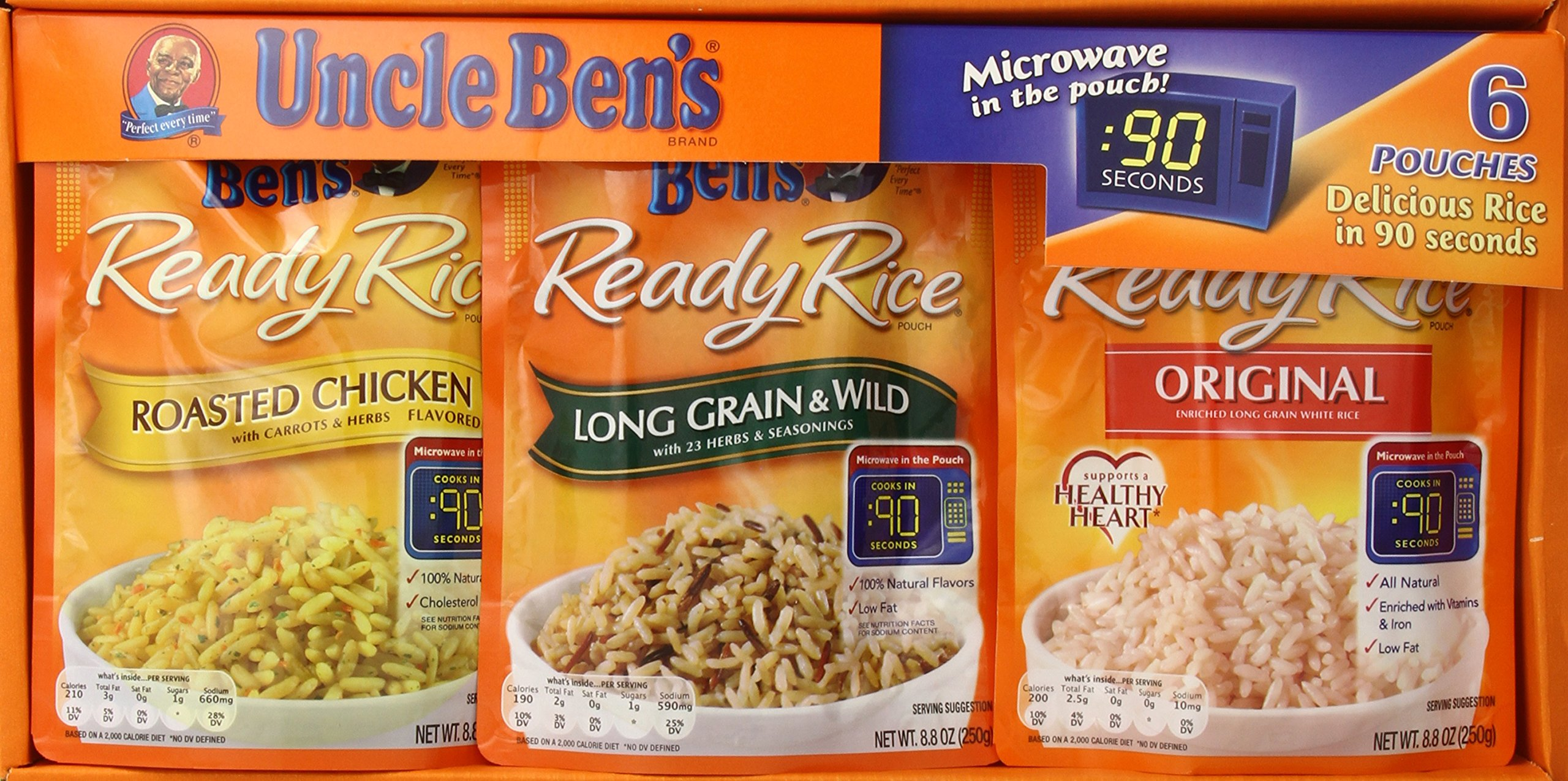 Amazon.com : Uncle Ben's Ready Rice Chicken Whole Grain