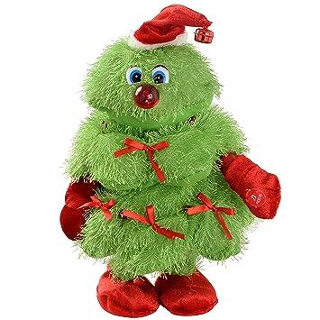 WeRChristmas Novelty Dancing Walking and Singing Christmas Tree ...