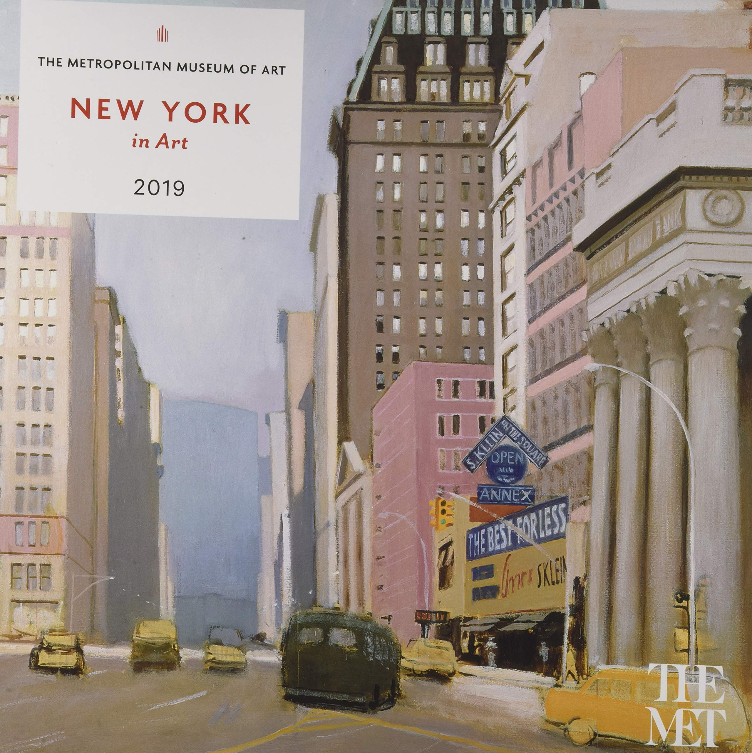 Download New York in Art 2019 Wall Calendar pdf