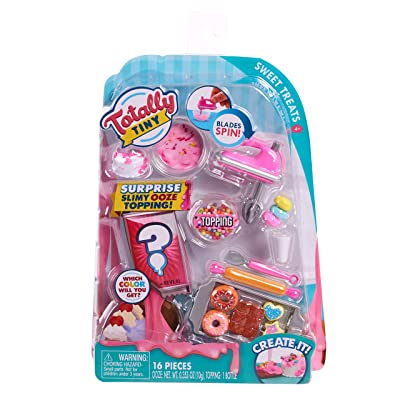 Totally Tiny Food Set Sweet Treats: Toys & Games