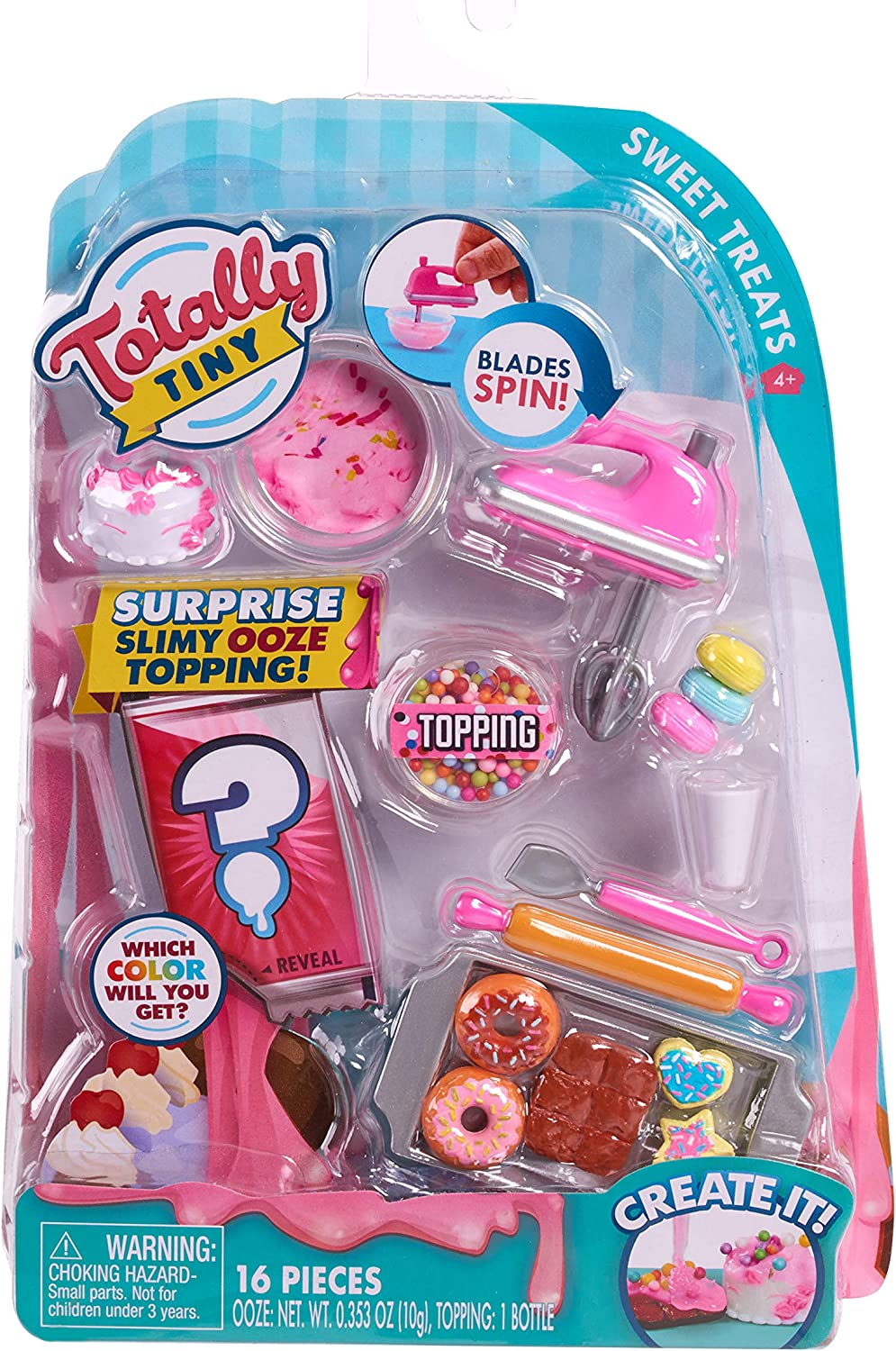 Totally Tiny Food Set Sweet Treats, Multi-Color (56581)