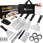 Jonyeu 16 PCS Griddle Accessories Set for Blackstone and Camp Chef