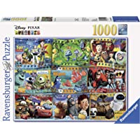 Ravensburger Disney Pixar Movies 1000 Piece Jigsaw Puzzle for Adults – Every Piece is Unique, Softclick Technology Means…