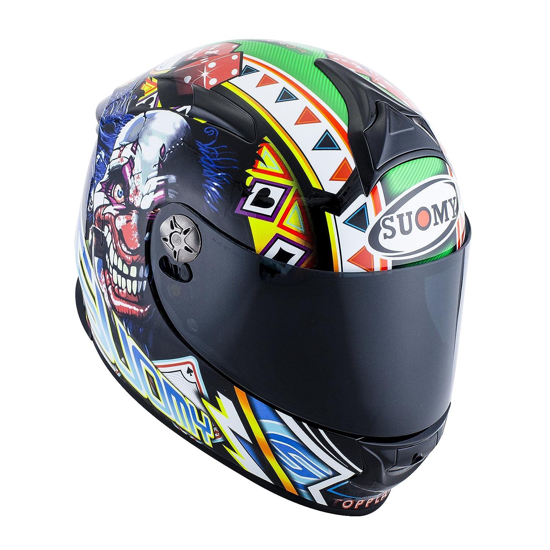 Amazon.es: SUOMY SR Sport - Casco para Moto Integral, Multicolor (Gamble Top Player), M