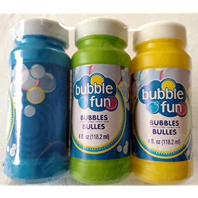 5Star-TD Bubbles with Wands, 3-ct. Packs: Toys & Games