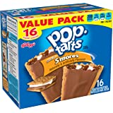 Pop-Tarts Breakfast Toaster Pastries, Frosted S'mores Flavored, Value Pack, 29.3 oz (16 Count)