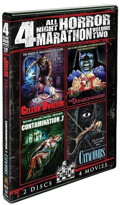 Scream Factory All Night Horror Movie Marathon 2 DVD Region 1 NTSC US Import: Amazon.es: Cine y Series TV